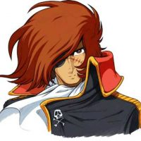 Space Pirate. Captain Harlock